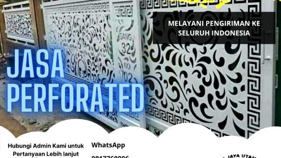 DISTRIBUTOR & APLIKATOR  ACP | ACP PERFORATED | JASA PERFORATED / LUBANG MOTIF